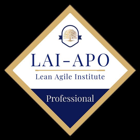 Agile Product Owner (LAI – APO)